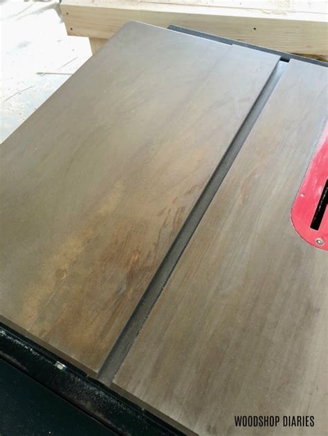 remove rust   table   protect