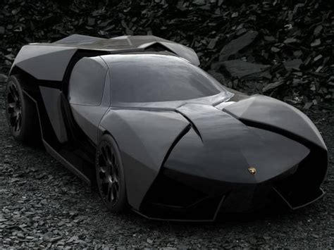 Batmobile Inspired By Reventon