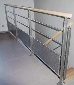 Garde Corp Escalier : escalissime nos escaliers garde corps lisses laqu ~ Dallasstarsshop.com Idées de Décoration