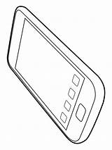 Iphone Coloring Mycoloring Printable sketch template