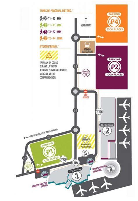 plan aeroport beauvais carte aeroport beauvais france