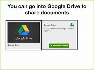 get the hang of a google hangout With google hangouts share documents