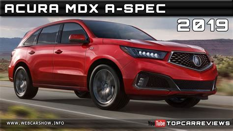 acura mdx  spec review rendered price specs release