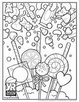 Candy Coloring Pages Sweet Skull Sugar Printable Print Sheets Drawing Food Getcolorings Adults Cute Christmas Books Pdf Popular Young Lovesmag sketch template