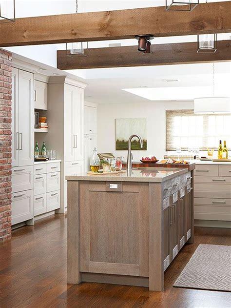 limed oak kitchen cabinets bhg style spotters 7112
