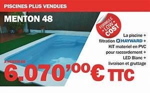 Piscine Coque Pas Cher : piscine coque promo piscine plastique pas cher ~ Mglfilm.com Idées de Décoration