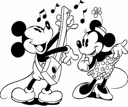 Mickey Disney Mouse Clipart Minnie Characters Cartoon