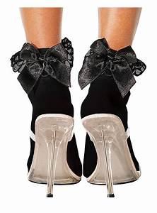 Schuhe Schnüren Ohne Schleife : schwarze s ckchen mit schwarzer schleife ~ Frokenaadalensverden.com Haus und Dekorationen