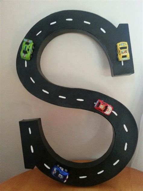 race car room decor car oh what a cool idea i will to this for aiden