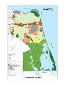 City Map of Virginia Beach Municipal