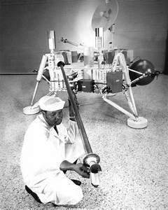 Technician Checks Soil Sampler on Viking Lander   NASA