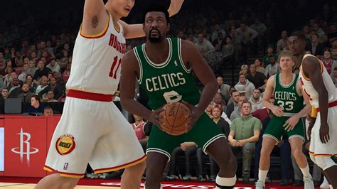 nba  myteam hall  famers packs include bill russell