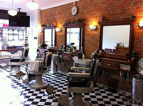 small barber shop design ideas 1000 ideas about barber shop decor on barber
