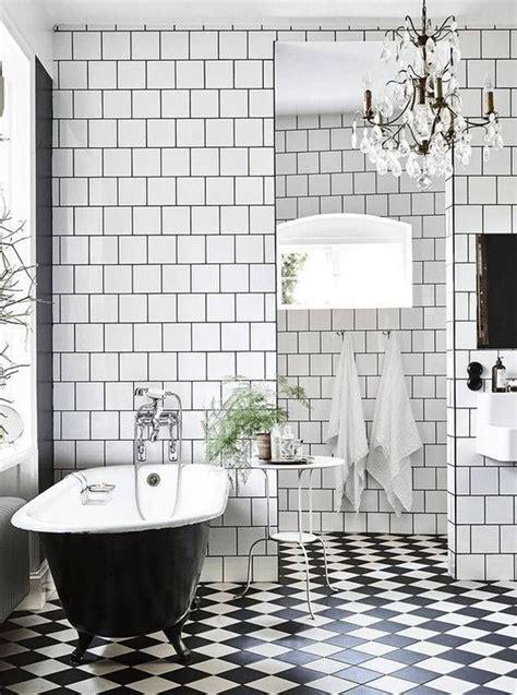 black and white bathrooms ideas 15 non boring black and white bathroom decor ideas