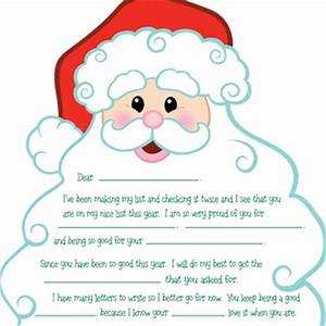 A letter from Santa I want to write a letter from Santa