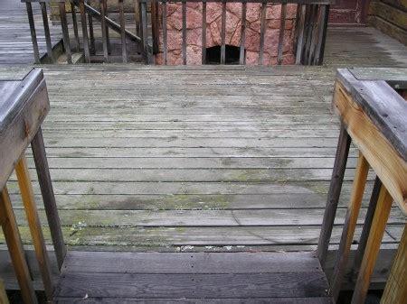 wood deck maintenance yearly checklist