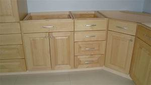 Unfinished Wood Kitchen Cabinets
