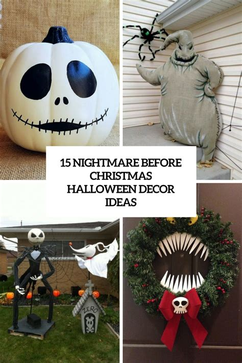 Nightmare Before Decorations the nightmare before decorations to make