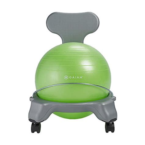 Gaiam Balance Chair Exercises by Gaiam Balance Chair Green Shopswell