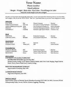 current cv templates download acting résumé template pdf word wikidownload