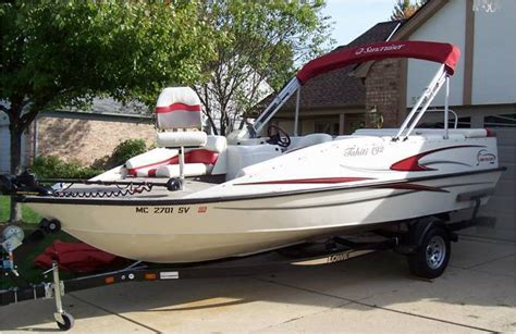 Lowe Deck Boats For Sale Used by Lowe Suncruiser Tahiti 192 Deck Boat Ski Boat 2005 For