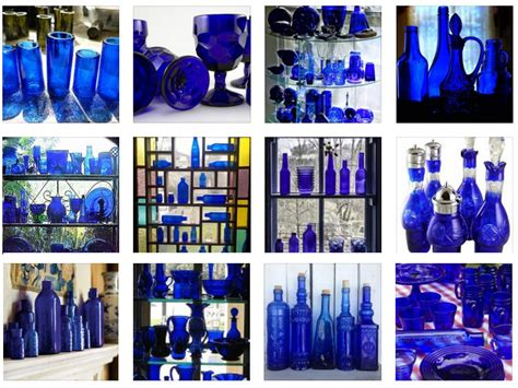 ideas to decorate a bedroom cobalt blue glass inspiration interiors by color