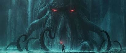 Fantasy Cthulhu 4k Monster Uhd Wallpapers Wallpaperaccess