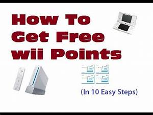 Club Total Points : how to get free wii wii u points in 10 easy steps youtube ~ Medecine-chirurgie-esthetiques.com Avis de Voitures