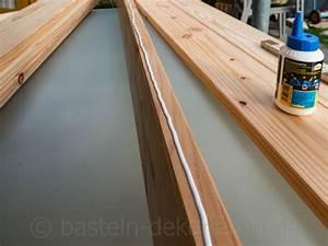 Holz Wasserdicht Machen : diy gartentisch aus holz basteln und dekorieren ~ Lizthompson.info Haus und Dekorationen