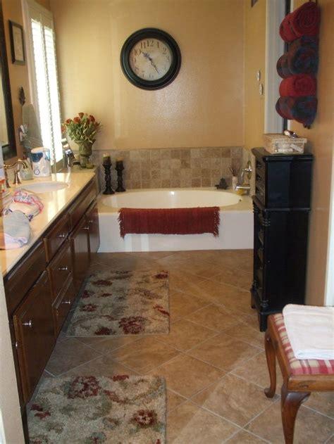 small master bath tuscan style bathrooms pinterest
