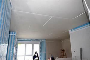 Rigips Decke Anbringen : tag 151 rigips decke wohnzimmer und k che heim am main ~ Frokenaadalensverden.com Haus und Dekorationen