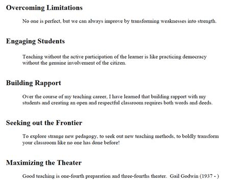 teaching philosophy template learning and teaching philosophy what are your essential messages tilt