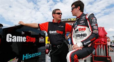 joe gibbs racing sets crew chief lineup   nascarcom