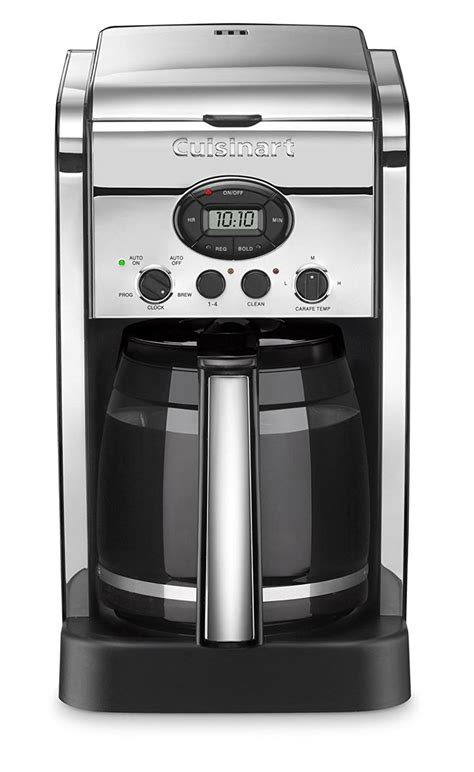We have included one of them in our best coffee maker with grinder reviews. Cuisinart DCC-2600CHFR 14 Cup Brew Central Coffee Maker (Certified Refurbished) ** For more ...