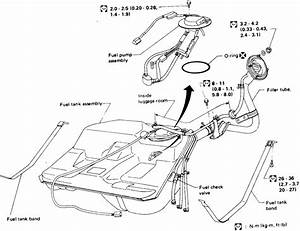 1992 Nissan Gas Tank Diagram