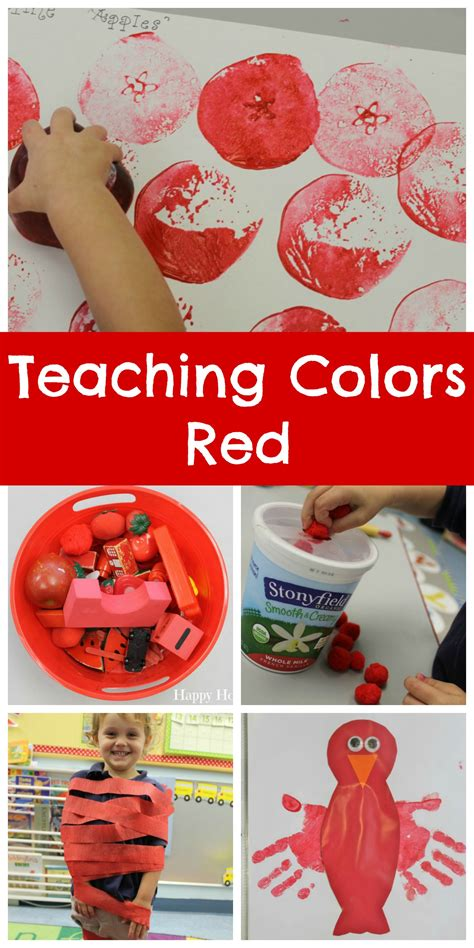 teaching colors happy home 639 | Teaching Colors Red