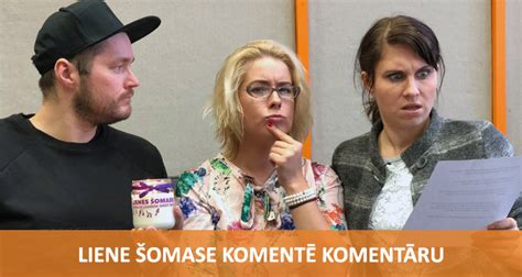 Komentē Komentāru - Liene Šomase | Radio SWH