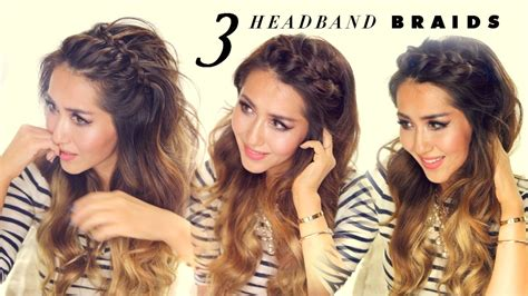 3 Easy-peasy Headband Braids