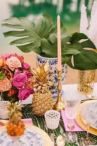 Deco Table Tropical : 8 belles raisons de se marier sur le th me hawa en ~ Teatrodelosmanantiales.com Idées de Décoration