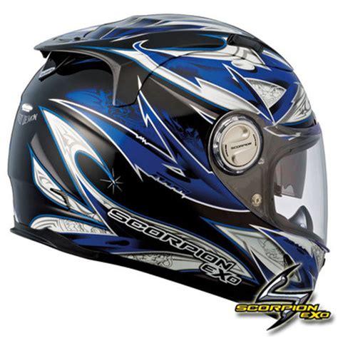 yamaha motocross helmet scorpion 1100 street demon blue sunvisor yamaha sportbike