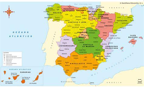 Organización territorial Mi Clase En La Nube