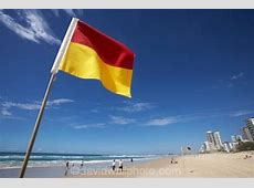 Surf Lifesaving Flag, Surfers Paradise, Gold Coast