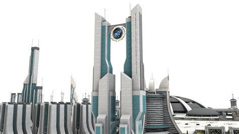 Federation Star Trek City Stock by vatorx on deviantART