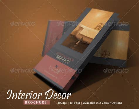 interior decor brochure design  blogankids graphicriver
