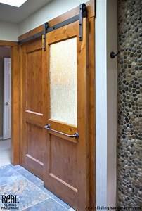 2470 best images about barn door on pinterest for Barnwood pocket door