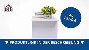 Tv Schrank Mit Rollen : homcom fernsehtisch lowboard tv rack board regal schrank ~ Watch28wear.com Haus und Dekorationen