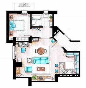 10 Of Our Favorite Tv Shows Home  U0026 Apartment Floor Plans