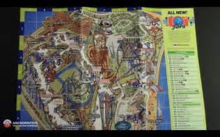 2017 Cedar Point Park Map