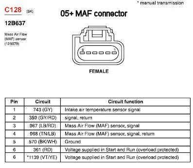 2011 Gmc Maf Iat Wiring Diagram by Schematic For Maf Ford Truck Enthusiasts Forums