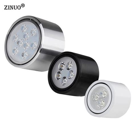 Zinuo Surface Mounted Led Downlights 3w 5w 7w 9w 12w High
